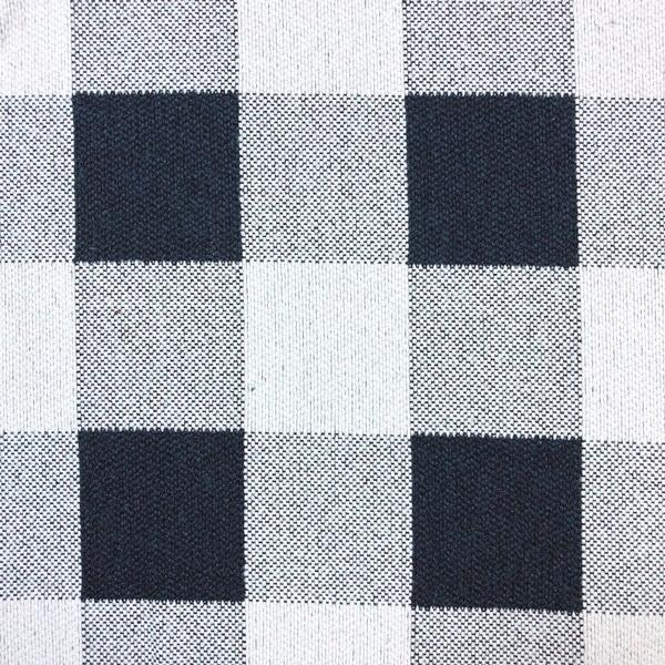 Rothbury Checkered - Jacquard Upholstery Fabric - Yard / rothbury-navy - Revolution Upholstery Fabric