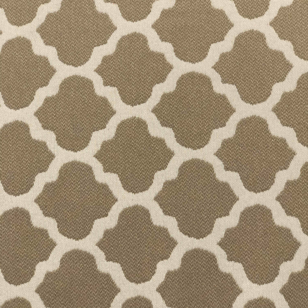 Metalwork - Washable Performance Fabric - metalwork-sand / Yard - Revolution Upholstery Fabric