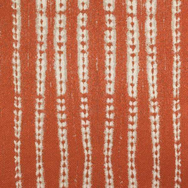 Spice - Striped Upholstery Fabric - Yard / spice-mango - Revolution Upholstery Fabric