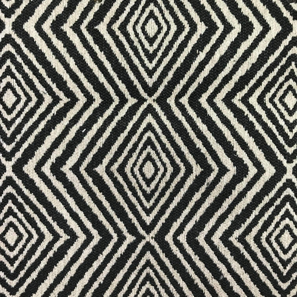 Tribe Diamond Print - Jacquard Upholstery Fabric - yard / tribe-dusk - Revolution Upholstery Fabric