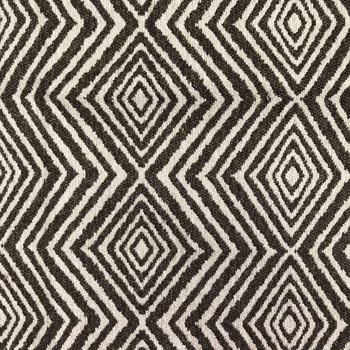 Tribe Diamond Print - Jacquard Upholstery Fabric - yard / tribe-rope - Revolution Upholstery Fabric