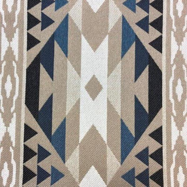 Whiskey River - Jacquard Upholstery Fabric - Yard / whiskeyriver-navy - Revolution Upholstery Fabric