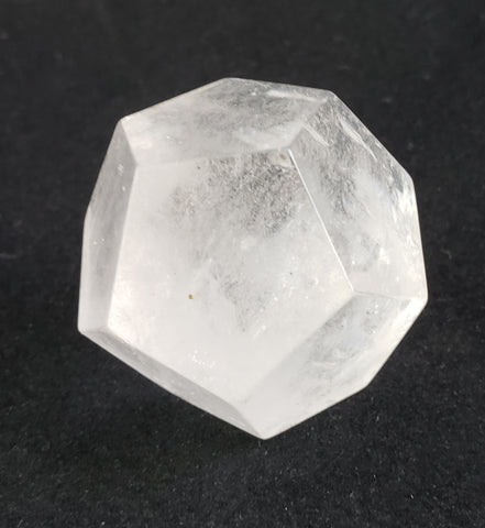 Dodecahedron Clear Quartz