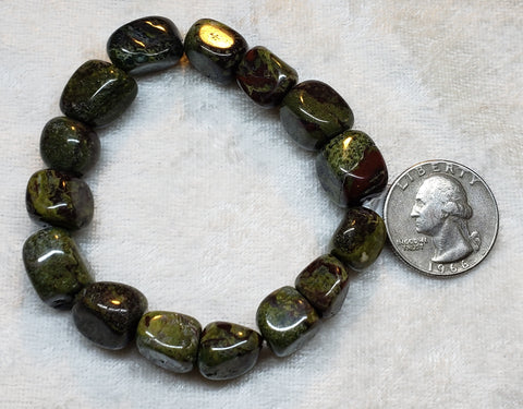 Dragon Blood Jasper Bracelet