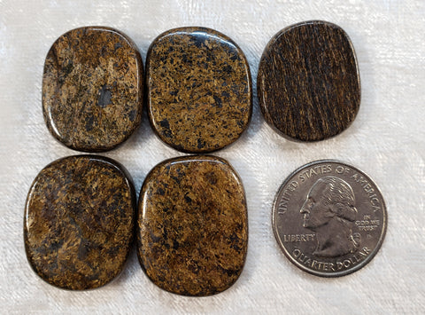 Bronzite Mini Rounds