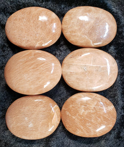 Peach Moonstone Pillows