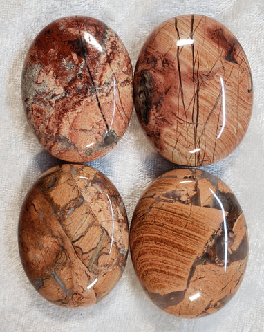 Breceated Jasper Pillows