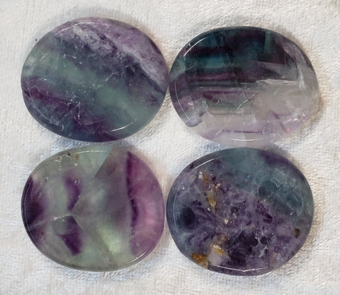 Rainbow Fluorite Mini Rounds