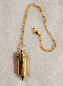 Brass Pendulum with Chamber