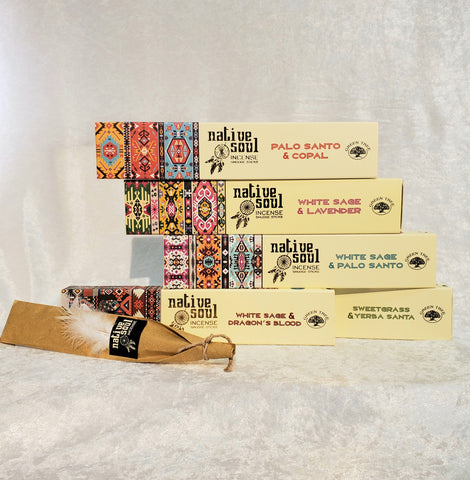 Native Soul Incense Smudge Sticks