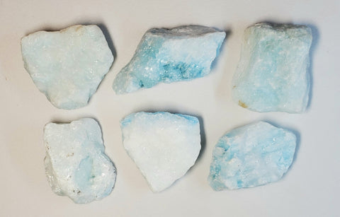 Blue Aragonite Rough Sample