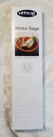 White Sage Incense by Nitiraj