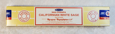 California White Sage Satya Incense