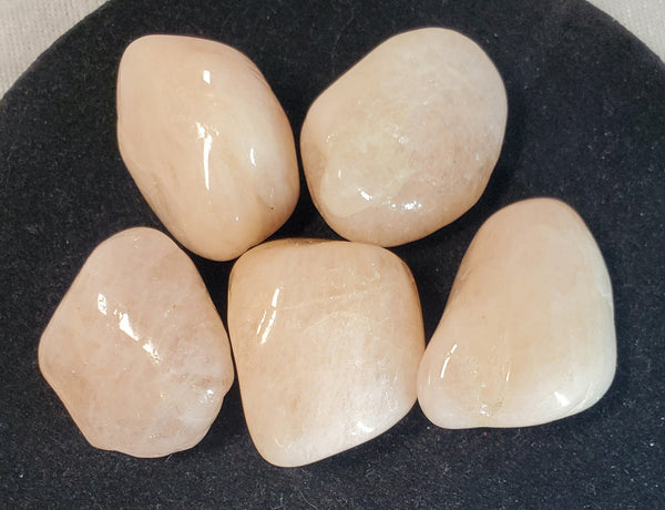 Morganite Tumbled