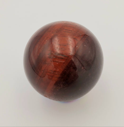 Red Tigers Eye Sphere