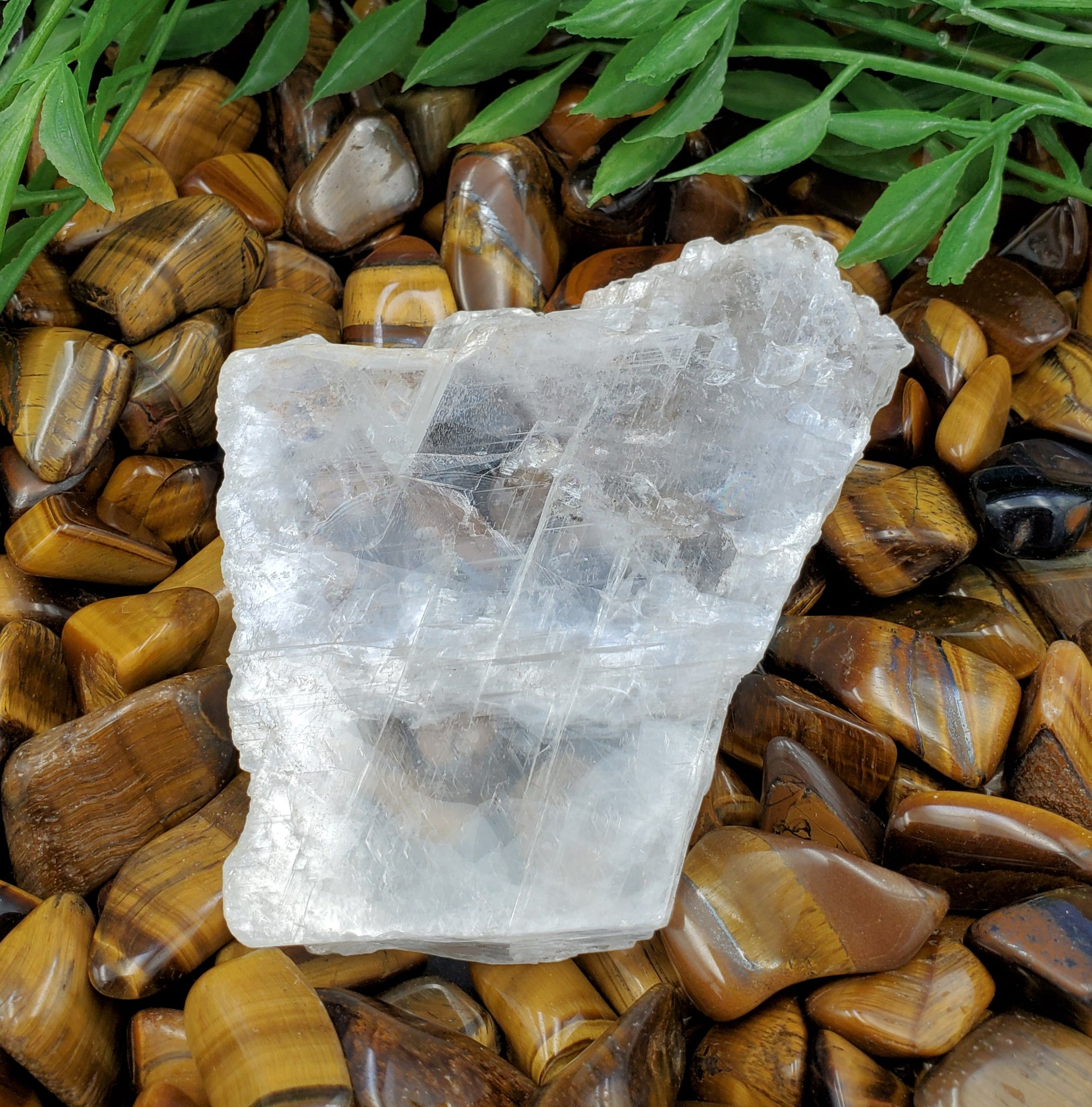 True Selenite Charging Plate