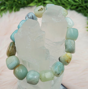 Amazonite Chunky Delight Bracelet