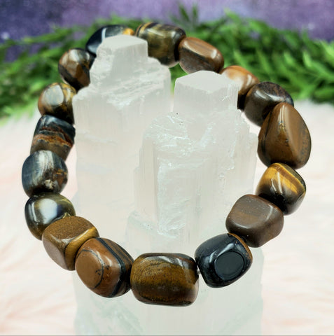 Tigers Eye Chunky Delight Bracelet