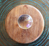 Crystal Sphere With Prism Tint