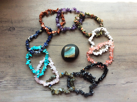 Gemstone Bracelets - Assorted