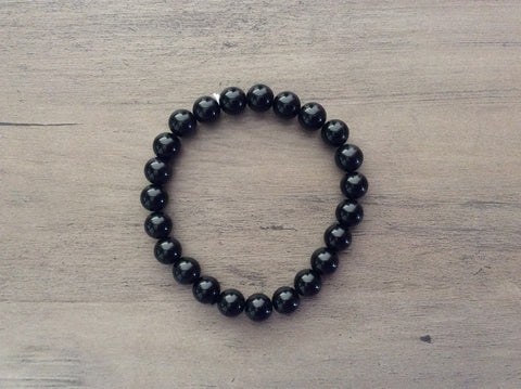 Rainbow Obsidian Stretch Bracelet