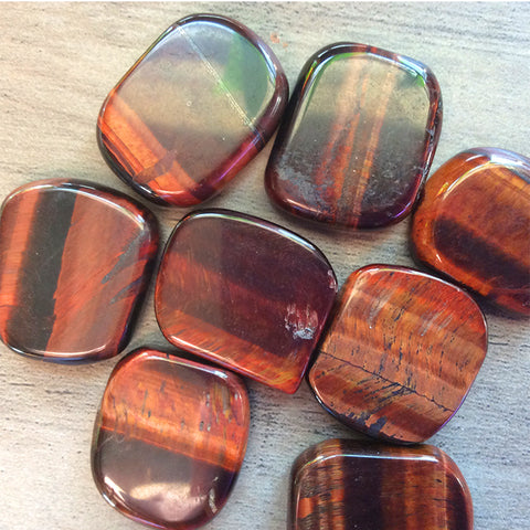 Red Tiger Eye Mini Rounds
