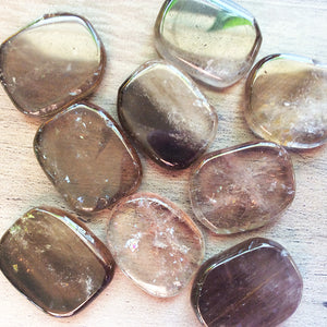 Smoky Quartz Mini Rounds