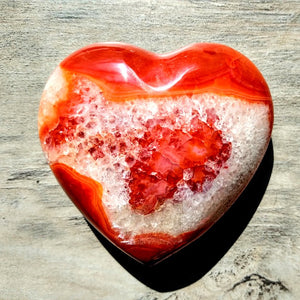 Featured Product Gemmy Carnelian Heart