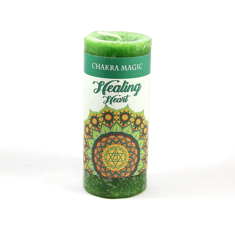 Chakra Magic Heart Healing Candle