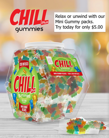 Chill Plus Mini Gummies by Diamond CBD