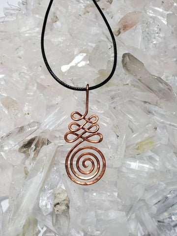 Copper Unalome Necklace