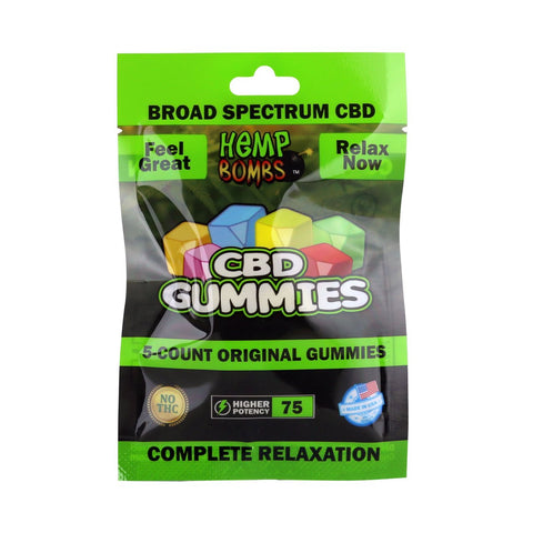 CBD Gummies by Hemp Bomb