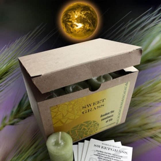 Sweet Grass Votive Candles