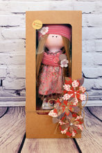 Ava – Collectible Handmade Textile Interior Doll
