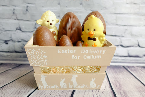 Double Stack Easter Crate