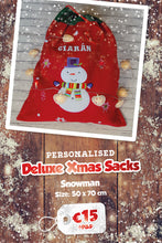 Personalised Deluxe Christmas Present Sacks
