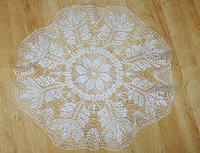 White Cotton Crochet Doily No.8
