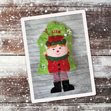 Personalised Elf Sack with Legs