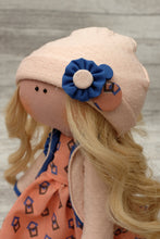 Charlotte – Collectible Handmade Textile Interior Doll