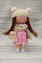 Jane – Collectible Handmade Textile Interior Doll