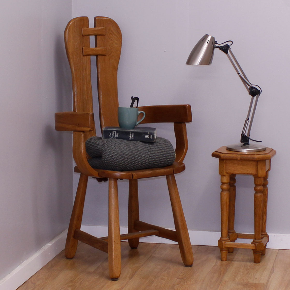 Scandinavian Carver Chair