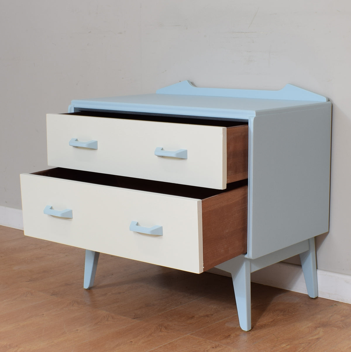 Retro 2 Drawer Cabinet
