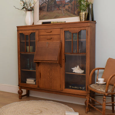 Glazed Bureau Display Unit