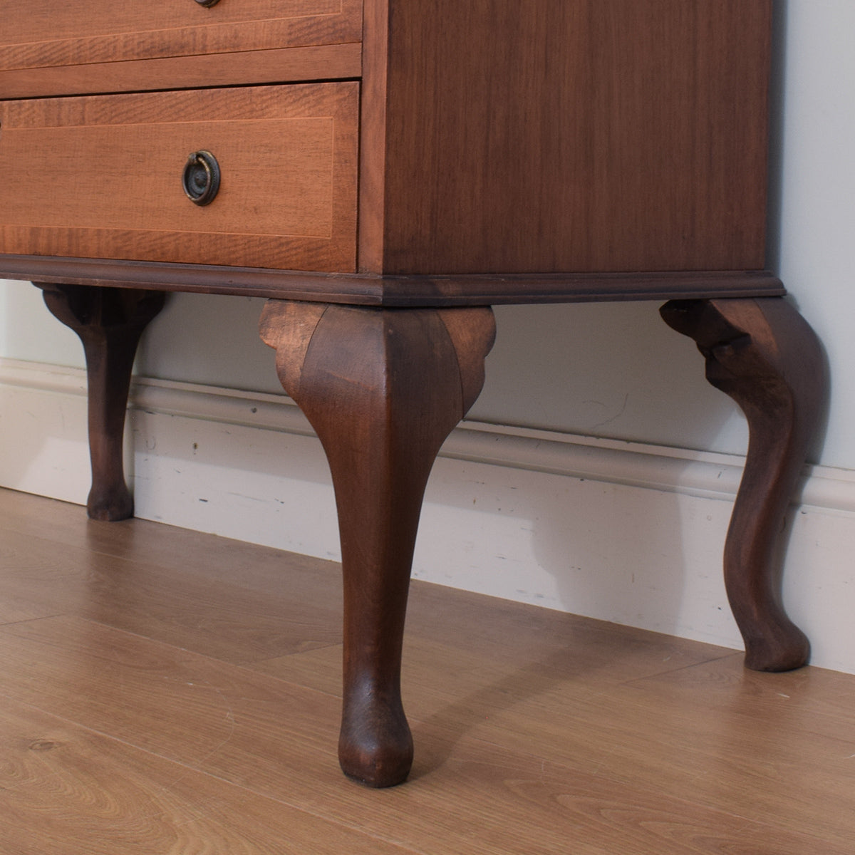 Restored Mahogany Writing Bureau