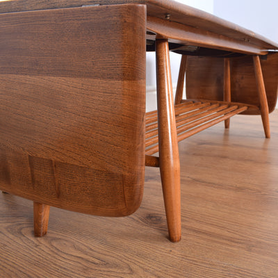 1960's Ercol Windsor Drop-leaf Coffee Table