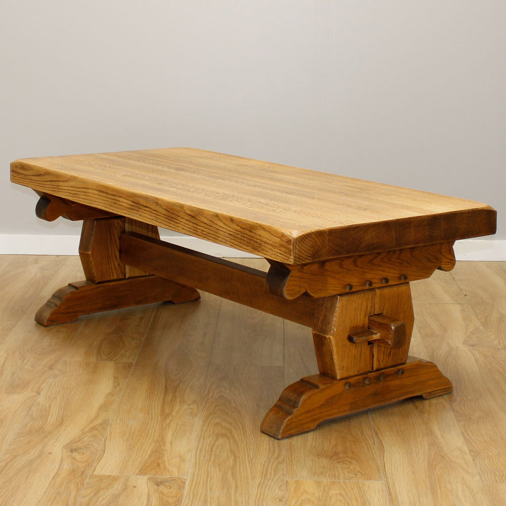 Farmhouse Oak Coffee Table