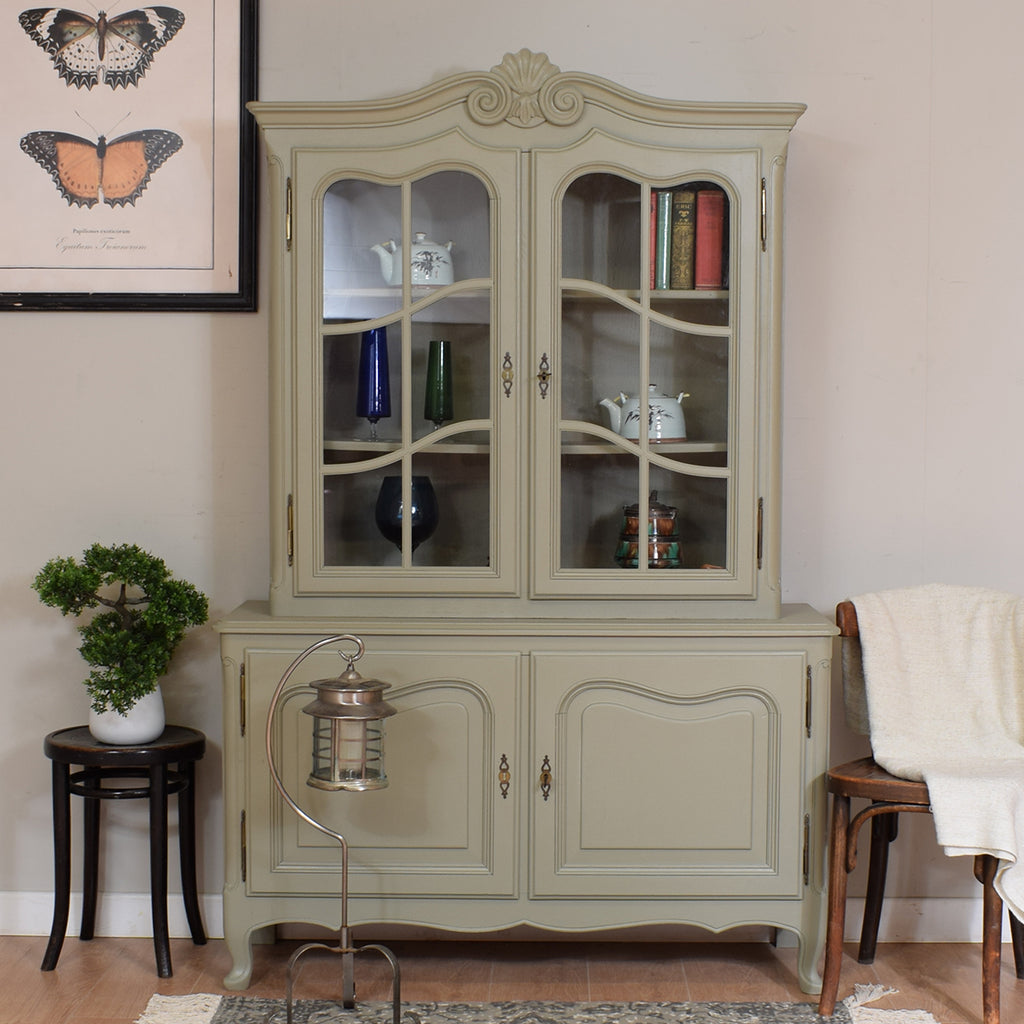 Painted French Vitrine