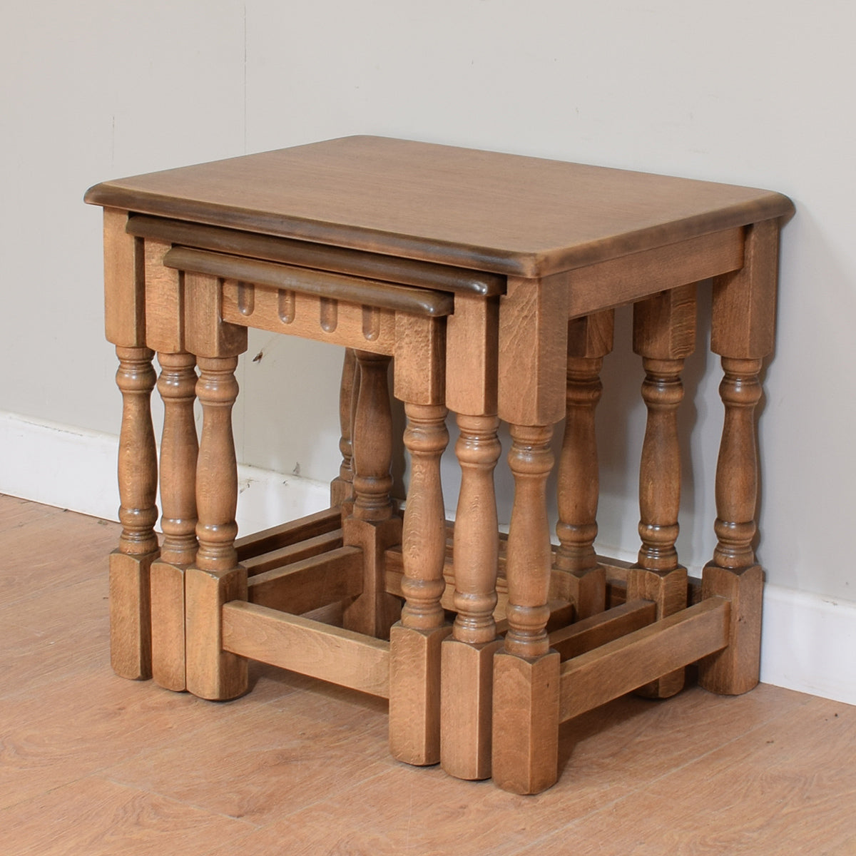 Priory Style Nest Of Three Tables