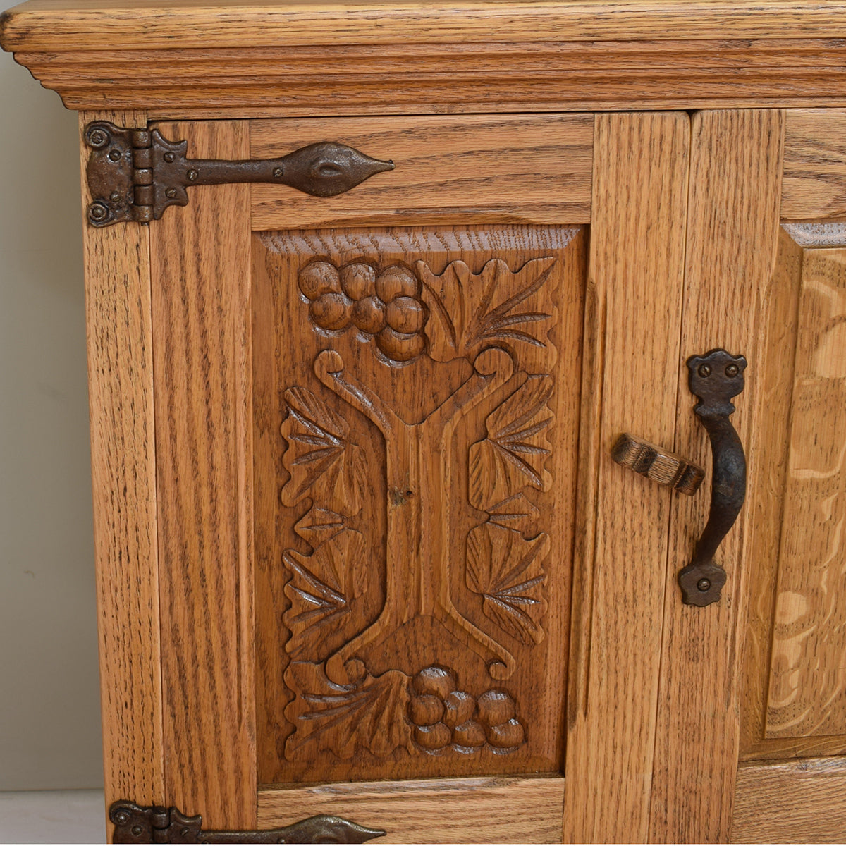 Restored Oak 'Webber' Dresser