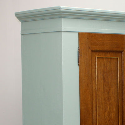 Painted Country Style Linen press